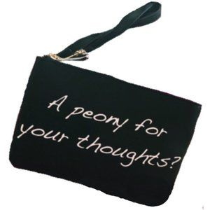 """Betsey Johnson """"A Peony for your thoughts"""" Bag"""